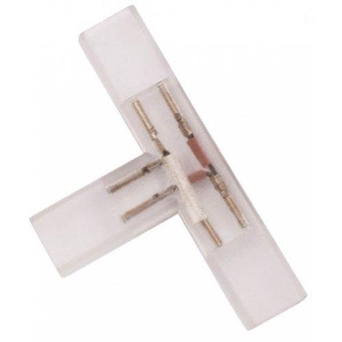 Conector prelungire banda LED, tip T, 220V, 2835