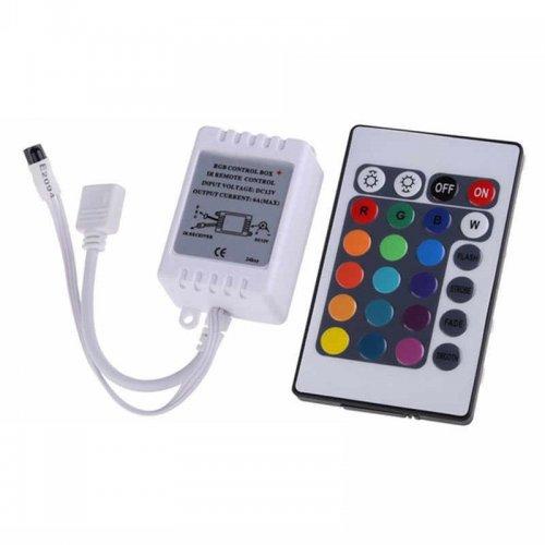 Controller banda LED RGB, 12V, 72W, telecomanda IR 24 taste