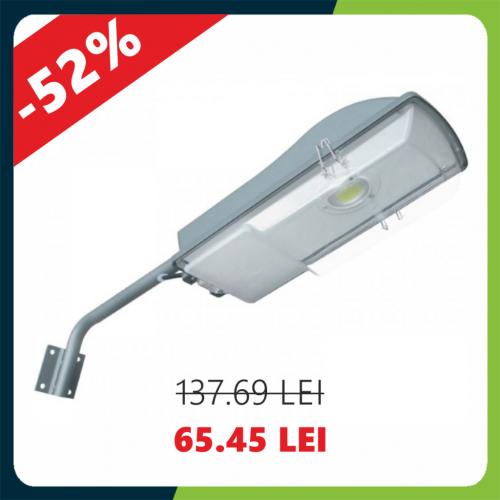 Corp Stradal Led + Consola 30W=65W,  6400K, lumina rece