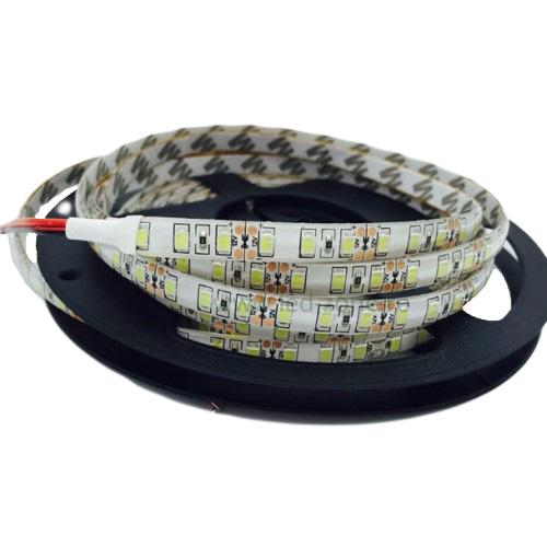 Banda LED 12V 4.8W/M 60LED/M IP65 R2835, lumina calda - rola de 5m