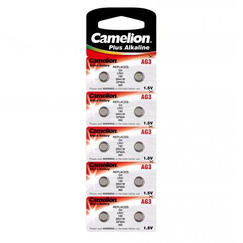 Baterii alcaline Camelion AG 3 - blister de 10 buc
