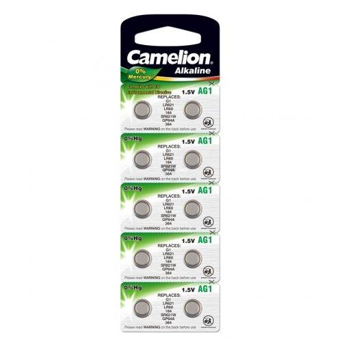 Baterii alcaline Camelion AG1 (LR60) - blister de 10 buc