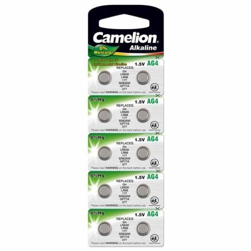 Baterii alcaline Camelion AG4 - blister de 10 buc
