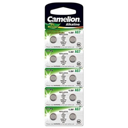 Baterii alcaline Camelion AG7 - blister de 10 buc