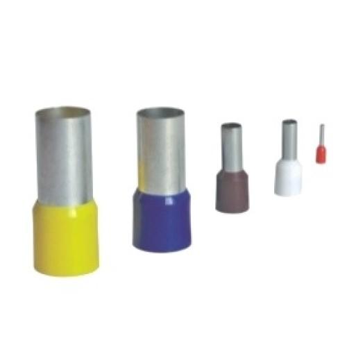 Pini terminali cu izolatie 0.5mm, set 100buc