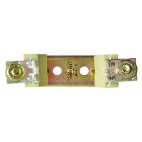Soclu siguranta MPR, punte metalica 1P-PK00 M8 160A