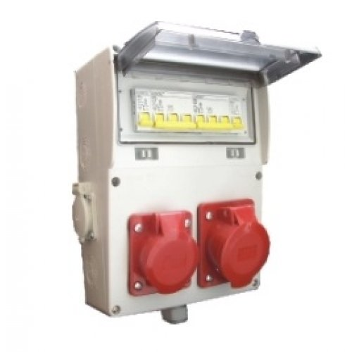 Tablou de santier echipat T1X16+T1X32+M2X16, 10L IP66 - MF0015-00097