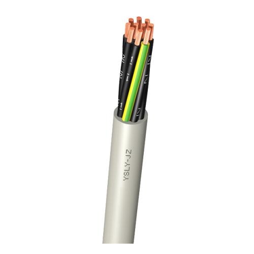 Cablu industrial de comanda cu izolatie pvc YSLY-JZ 5x1.5mm