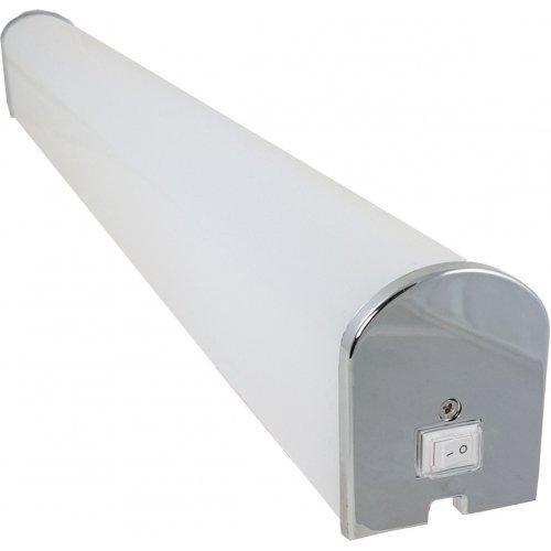 Corp LED baie cu intrerupator, 15w 4000K, lumina neutra, cu protectie IP44, 600mm