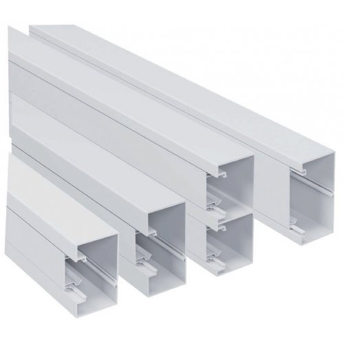 Canal cablu PVC 16x16 mm (Pret pe metru liniar)