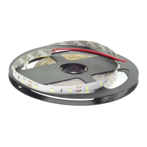 Banda LED 12V 4.8W/M 60LED/M IP20 R2835, lumina calda  - rola de 5m