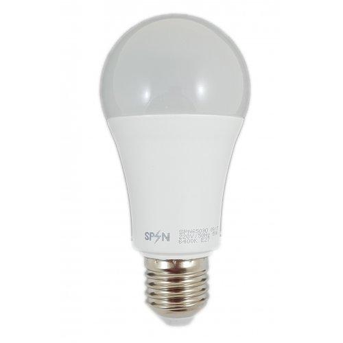 Bec Led E27, model glob A60, 15W=200W, lumina calda, 1650Lm