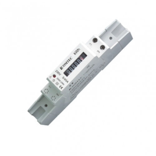 Contor analogic pe sina DIN , 1 modul 46A -  MF0028-02800
