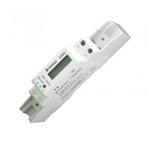 Contor analogic pe sina DIN , 1 modul 46A -  MF0028-02801