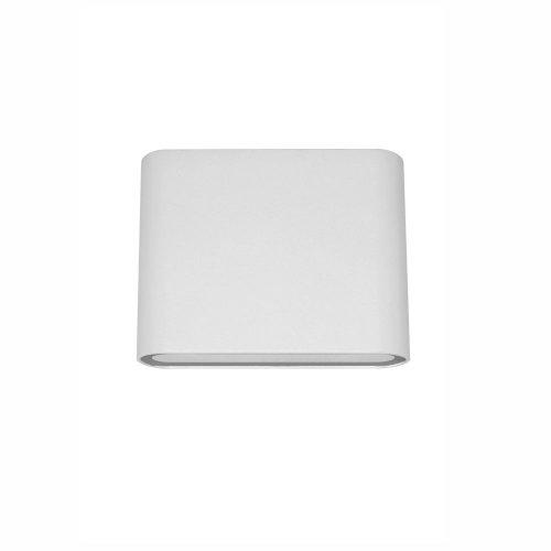 Aplica LED de exterior extra-plata, 6W=40W, 3000K, lumina calda, IP65