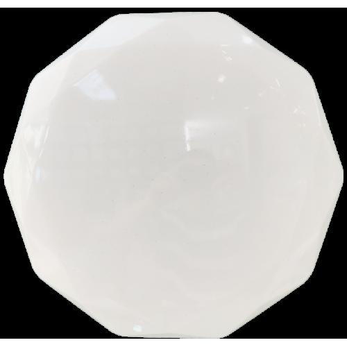 Plafoniera LED model Diamant, cu efect sclipire Ø390, 24W, 6400K