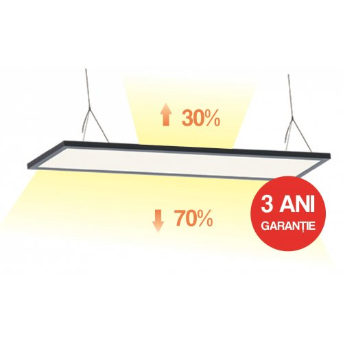 Panou Led 40W,70% / 30% - Backlight, 295X1195X11mm