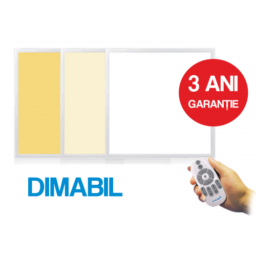 Panou Led Dimabil 595X595X10mm, 2-36W