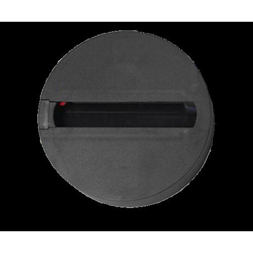 Baza rotunda pentru spot LED T3, negru