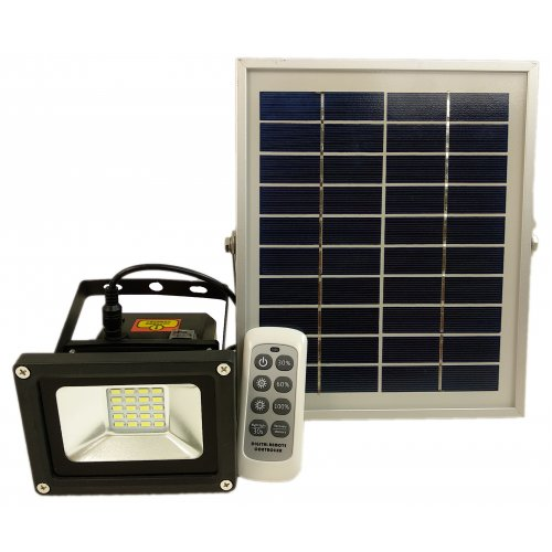 Kit Proiector Solar 10W 7.4V 3000mAh