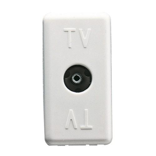 Priza modulara TV, Gewiss GW20228, alb - 1 modul