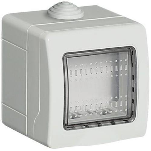 Doza 2 module IP55 bticino 24502 - montaj aplicat