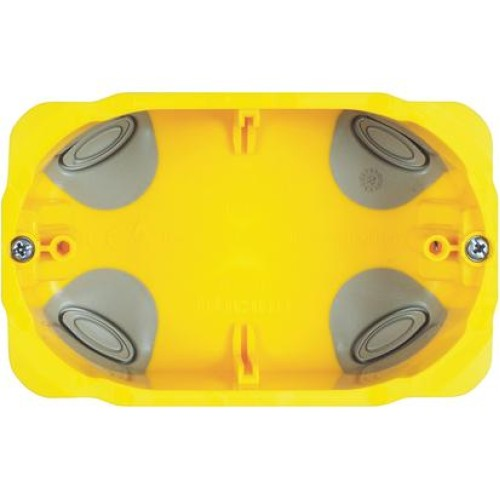 Doza aparat, bticino PB503 - 3 posturi - montaj rigips