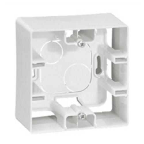 Rama aplicata simpla alb, Legrand Niloe 664798 - 1 modul