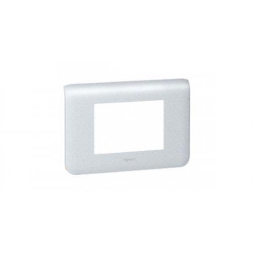 Rama intrerupator aluminiu Legrand Mozaic 079003 - 3 module