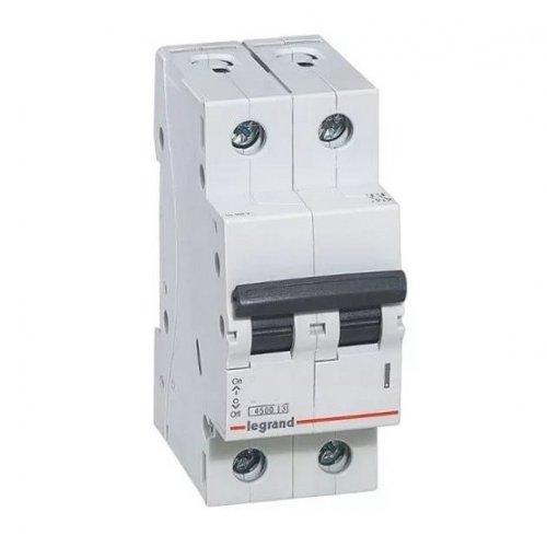Disjunctor 2P/C/10A/4.5KA Legrand 605023