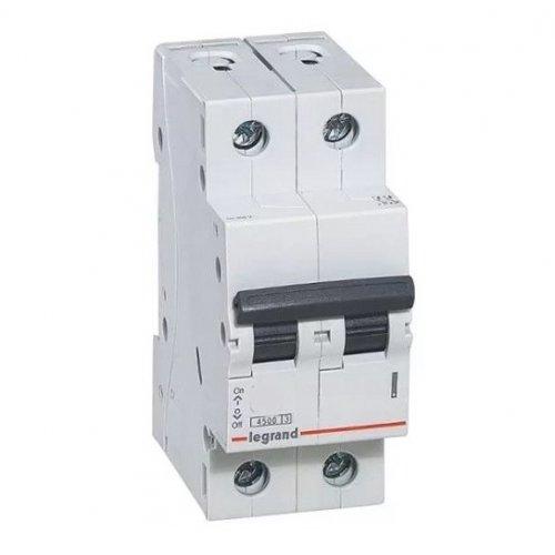 Disjunctor 2P/C/16A/4.5KA Legrand 605024