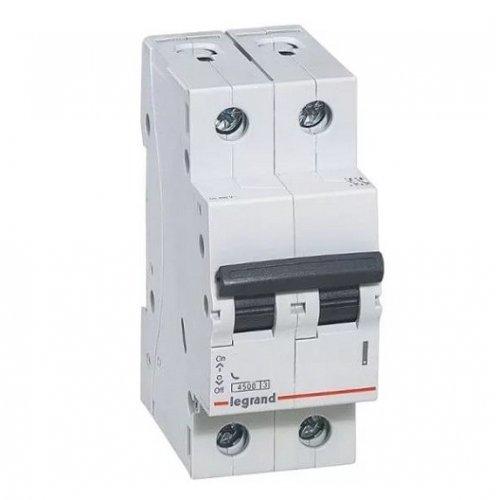 Disjunctor 2P/C/20A/4.5KA Legrand 605025