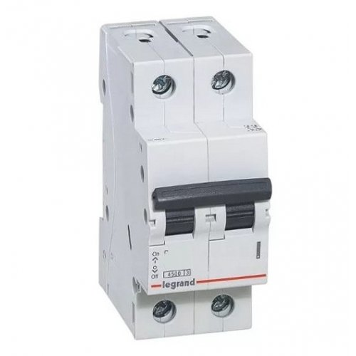 Disjunctor 2P/C/40A/4.5KA Legrand 605028