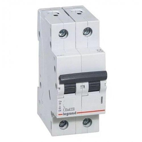 Disjunctor 2P/C/50A/4.5KA Legrand 605029