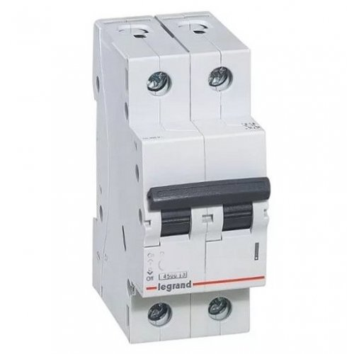 Disjunctor 2P/C/63A/4.5KA Legrand 605030
