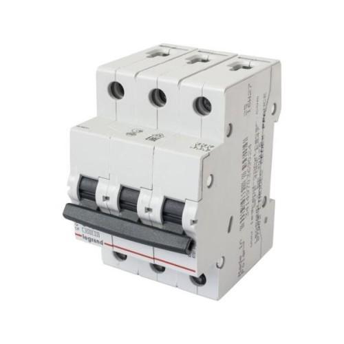 Disjunctor 3P/C/10A/4.5KA Legrand 605043