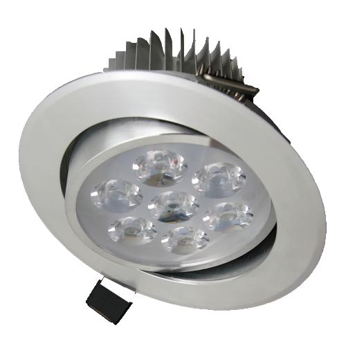 Spot Led aluminiu Fi109, 7W  6400K, lumina rece
