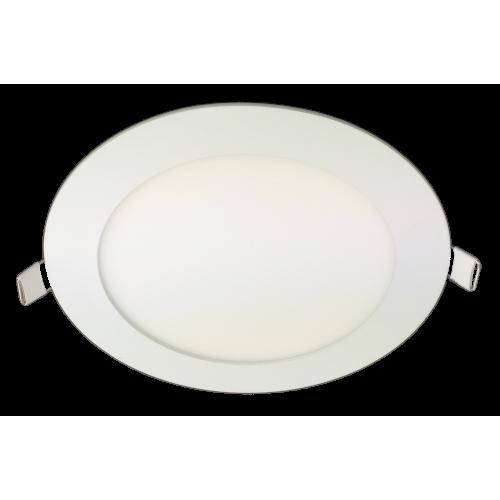 Spot Led Slim incastrat Ø170, 12W=75W, 6400K, lumina rece