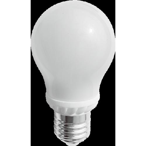 Bec Led E27, model glob A50, 5W=45W, lumina rece, 360