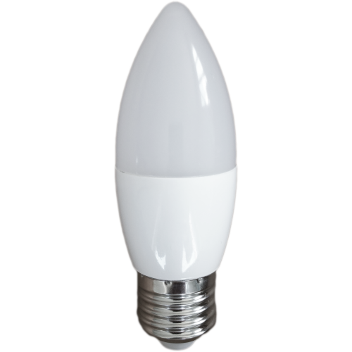 Bec Led Lumanare E27, model C35, 3W, lumina neutra