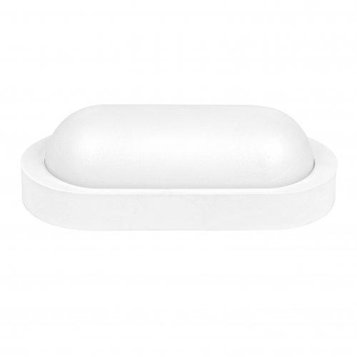 Aplica LED BAT Ovala 10W=90W, 6400K, lumina rece, cu protectie IP65